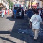 Balacera en zona centro de Pénjamo por atraco a joyería de Paco Mina (actualizada)