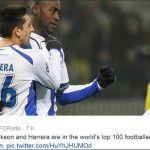 Héctor Herrera se posiciona en lo mejor de Europa