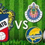Lobos Buap, Dorados y Chivas, rivales de la Trinca en Copa MX