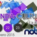 Agenda Cultural Semanal I.M.C.A.R