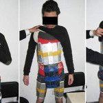 Llevaba 94 iPhones de contrabando pegados a su cuerpo