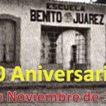 80 Aniversario de la Primaria Oficial 1 Benito Juárez en Cuerámaro