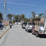 Inauguran 2 calles en la Estación de Pénjamo