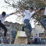 Se lleva a cabo en Pénjamo el evento «Skate y Grafitti»