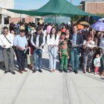 """En El Saucillo inauguran dos calles y clausuran talleres """"Hábitat"""""""