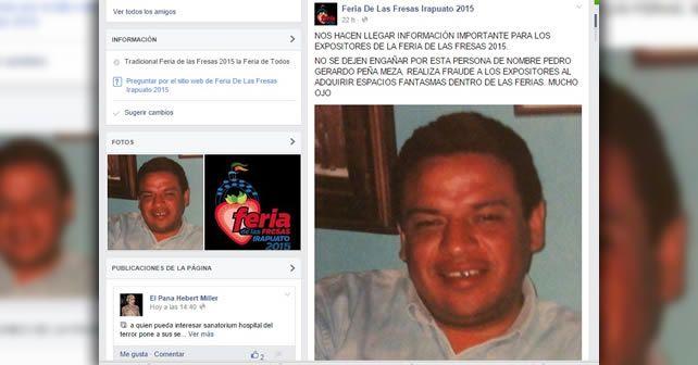 Photo of Alertan sobre presunto defraudador de expositores de la Feria 2015