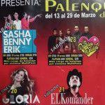 Julión, El Komander y Gloria Trevi… Feria 2015