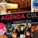 Agenda Cultural del 3 al 6 de febrero 2015