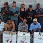 Detienen a 13 personas por peleas clandestinas de gallos