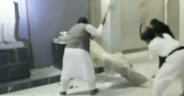 Photo of Destruyen en 5 minutos esculturas milenarias