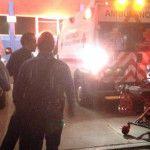 Se queman 6 policías en explosión en Pueblo Nuevo (video)