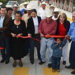 Inauguran pavimentación de acceso a la Granjena