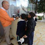 Convierten escuelas en museo por un día
