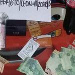En cateo PGR asegura droga, pistola y dinero; dos detenidos