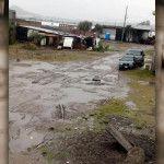 Sufren con las lluvias; calles intransitables
