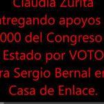 Difunden audio de supuesta compra de votos de Sergio Carlo Bernal