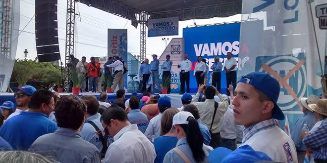 """Photo of """"Vamos a lo seguro"""": Ricardo Ortiz arranca campaña"""