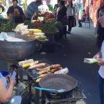 Yulma Rocha escucha a comerciantes y presenta sus propuestas