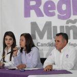 Regina Muñoz, da a conocer su proyecto ciudadano