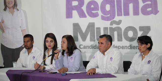 Photo of Regina Muñoz, da a conocer su proyecto ciudadano