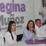 Regina Muñoz da a conocer su proyecto ciudadano