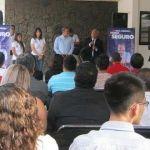 Ricardo Ortiz se reúne con estudiantes; piden mejorar imagen urbana del Centro Histórico