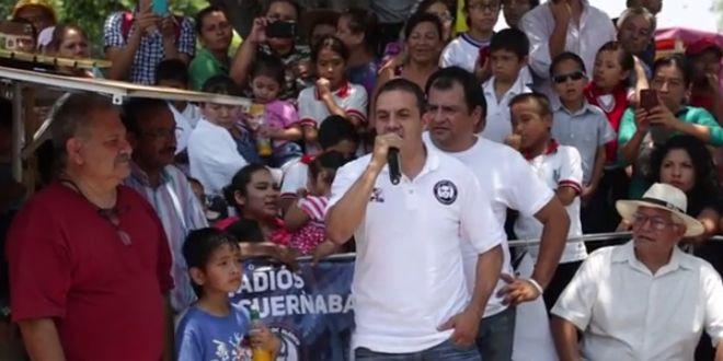 Photo of Cuauhtémoc Blanco se equivoca de partido en discurso