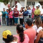 """""""Moy"""" Cortéz reitera su compromiso en comunidades y calles de la ciudad"""