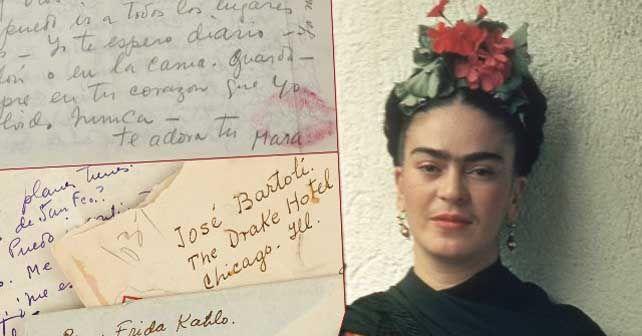 Photo of Subastarán cartas de amor de Frida Kahlo