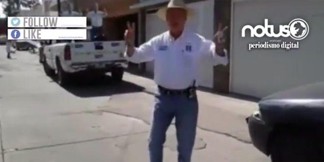 Photo of Güero Vargas baila para buscar diputación