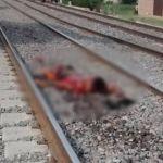 Abasolense muere arrollado por el tren