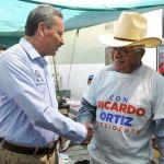 Reitera Ricardo Ortiz su llamado a una campaña limpia