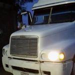 Roban camión en Pénjamo, lo recuperan en La Piedad