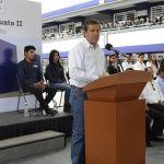Gobernador supervisa obras educativas y de conectividad