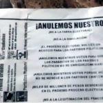 Llaman a boicot electoral en Irapuato