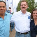 Apoyan a Moy Cortéz los senadores Romero Hicks  y Torres Graciano en Cuerámaro