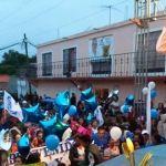 Continúa Moy Cortéz recibiendo el apoyo de la gente de Cuerámaro