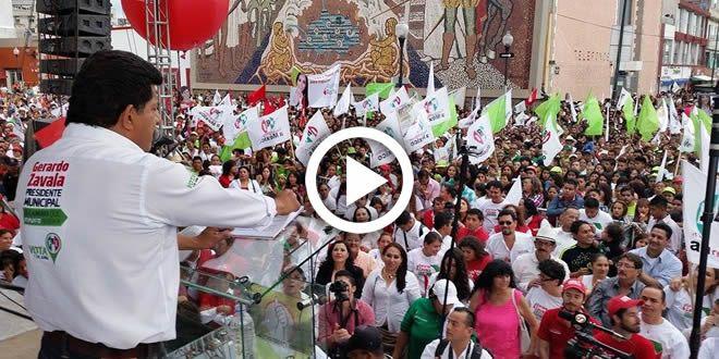 """Photo of """"No queremos más pan y circo"""": Gerardo Zavala en cierre de campaña"""