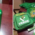 El Verde da dádivas escolares en Irapuato