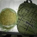 """Operativo permite la detención de una persona en posesión de """"mariguana"""""""