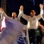 """""""Los pueblos y las comunidades se han vestido de azul"""", así cierra Moy Cortéz en Cuerámaro"""
