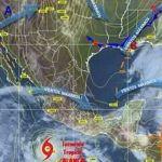 Probabilidad de lluvias ligeras principalmente en la región sur del estado