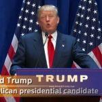"""""""México no es nuestro amigo"""": Donald Trump"""