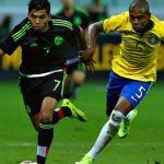 """Cae la Selección Méxicana ante el """"Verdeamarela"""""""