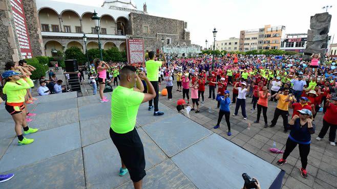 Photo of Activan a 18 mil personas, superan meta de ejercitación masiva