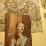 Inauguran obras del pintor del pintor Esteban Salinas; Museo de la ciudad