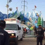 Falla juego mecánico en Expo Saltillo, deja un saldo de trece heridos