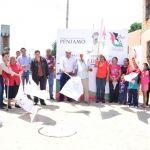 Arranca Presidente y Diputada calle 1ro. de Mayo en comunidad Presidio de Morales