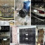 Recuperan vehículo robado y autopartes en cateo