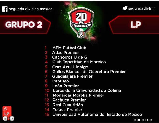 Calendario De Segunda Division De Futbol.La Trinca Debuta El Domingo 16 De Agosto Aqui Todo El Calendario